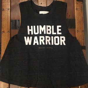 Spiritual Gangster Humble Warrior Tank, S